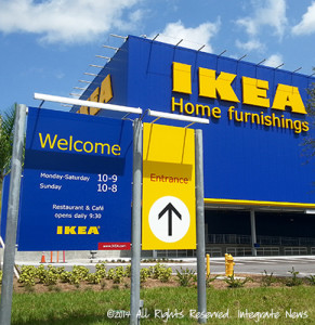 IKEA Miami sweetwater integrate news web feature