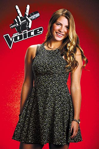 Fernanda Bosch integrate news miami venezuela the voice blind auditions 2014