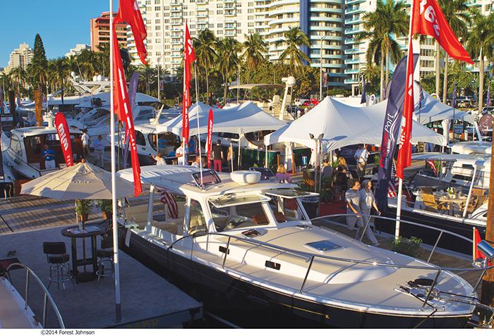 Miami beach boat yacht show integrate news